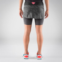 Vorschau: Glockner Ultra 2in1 Rock Damen - Laufrock mit Innenhose