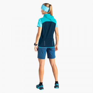 Transalper Light Dynastretch Jeans Shorts Damen