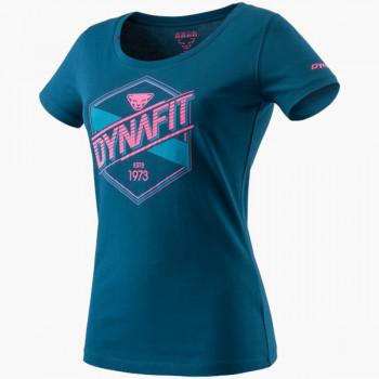 Graphic Cotton S/S T-Shirt Damen