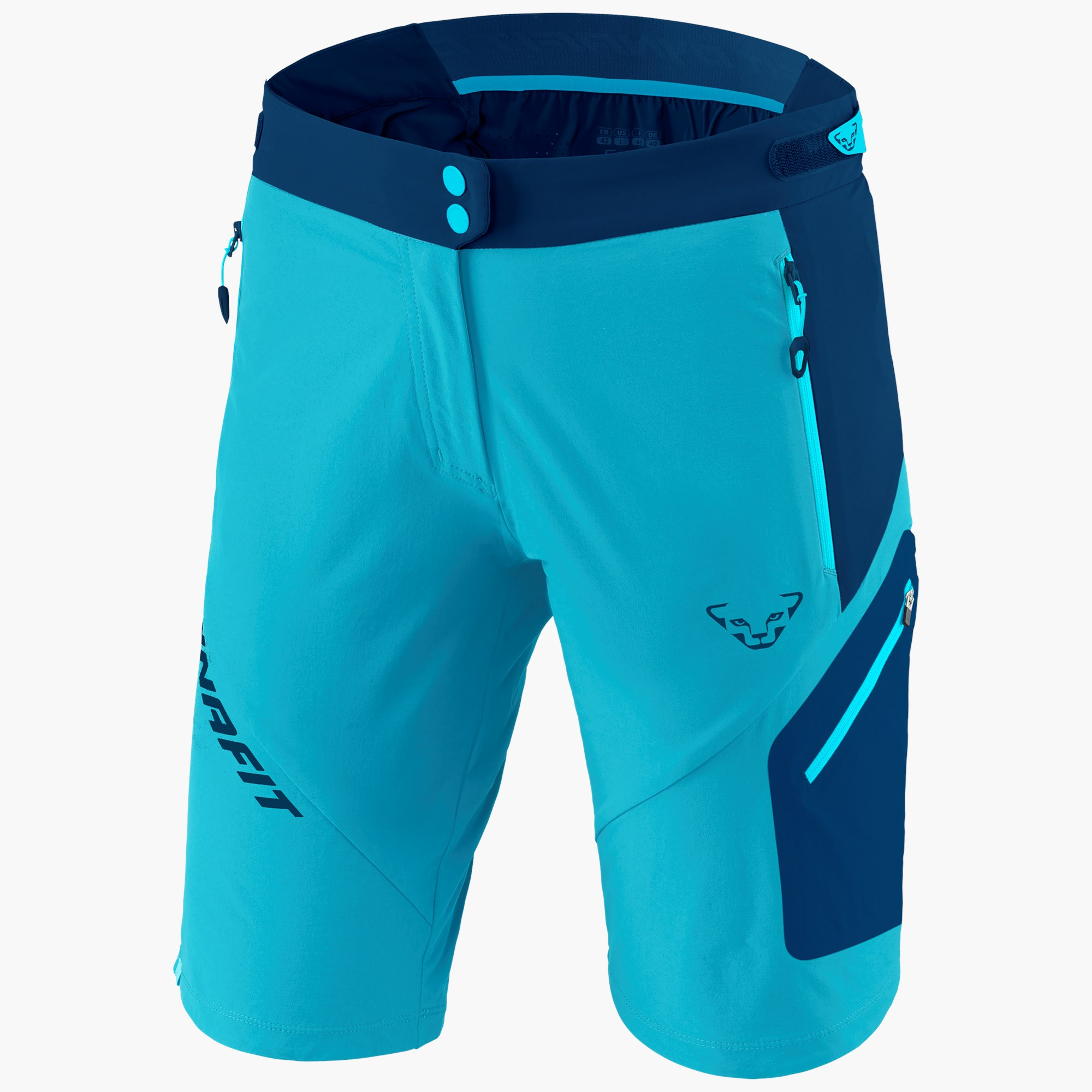 New Dynafit Transalper Durastretch Softshell Rouge Homme XL Randonnée Shorts PDSF $100