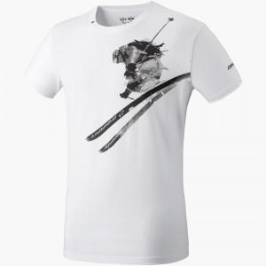 Graphic Cotton S/S Tee Herren
