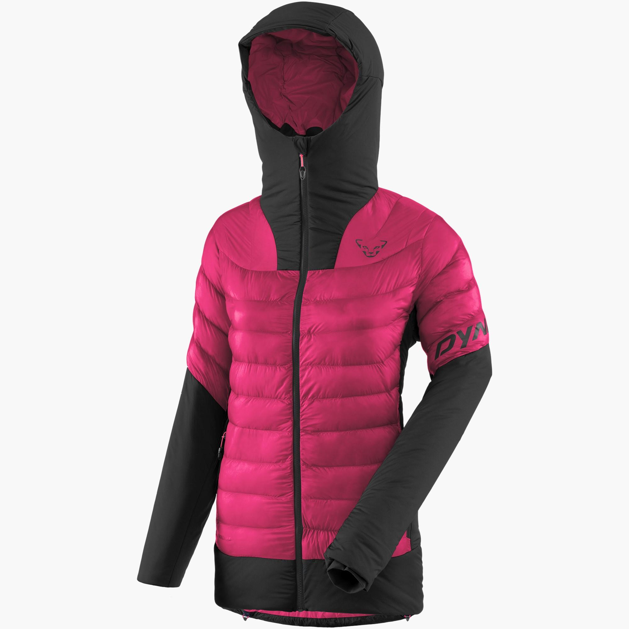 Giacca isolante da donna per scialpinismo e giornate fredde