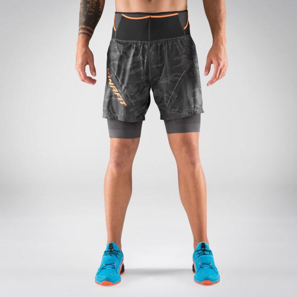 Glockner Ultra 2in1 Shorts Herren - kurze Laufhose mit Innenhose