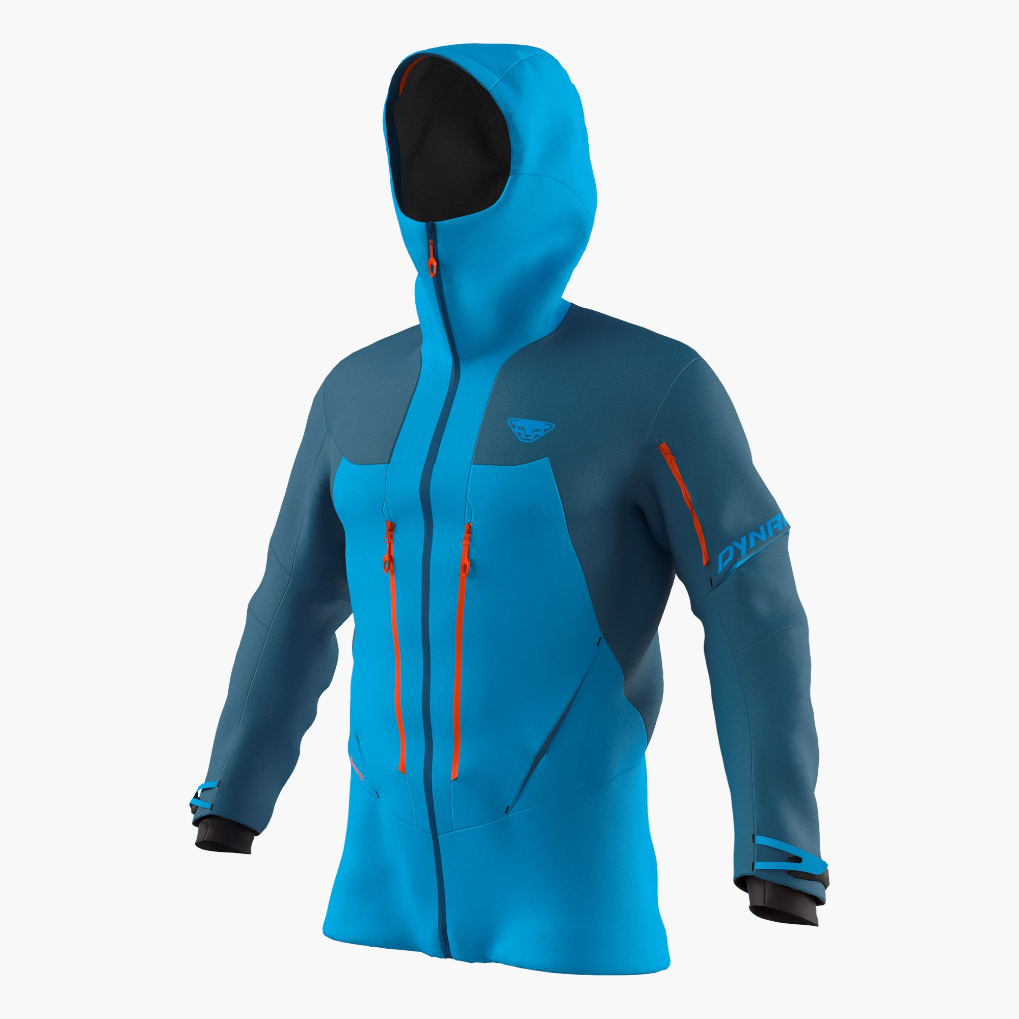 Hardshell jacket men's ski touring and trail running | Dynafit