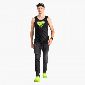 Graphic Cotton Tank Herren