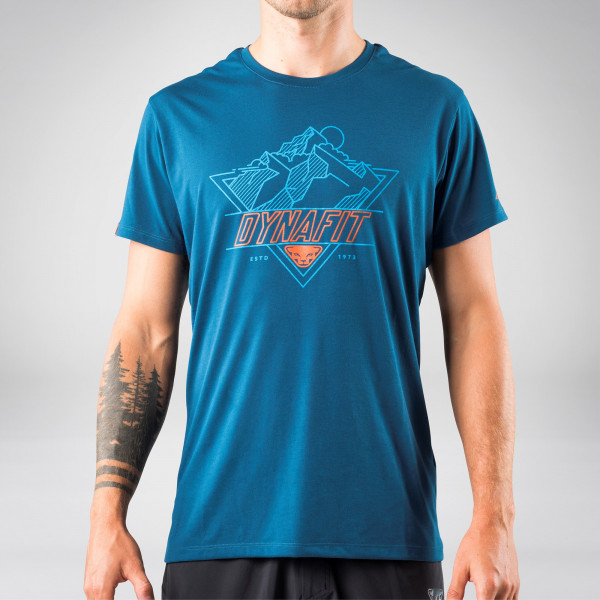 Transalper Graphic T-Shirt Herren