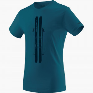Graphic Cotton T-shirt Men